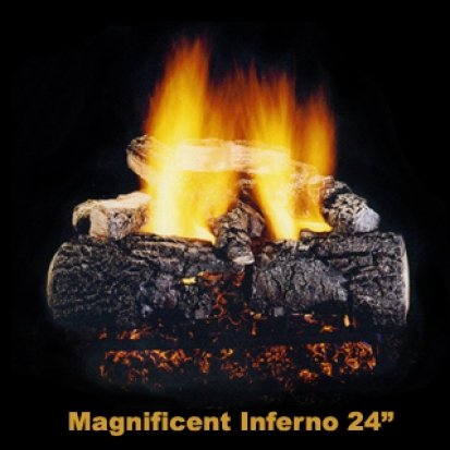Hargrove Magnificent Inferno 24%22 Logs
