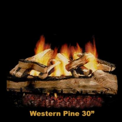 Hargrove Western Pine 30%22 Logs