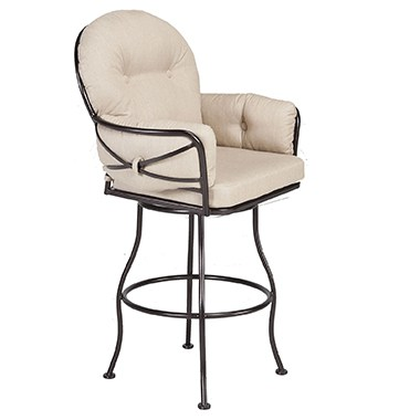 OW Lee Cambria Club Swivel Barstool