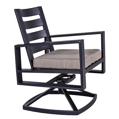 OW Lee Gios Swivel Rocker Lounge Chair