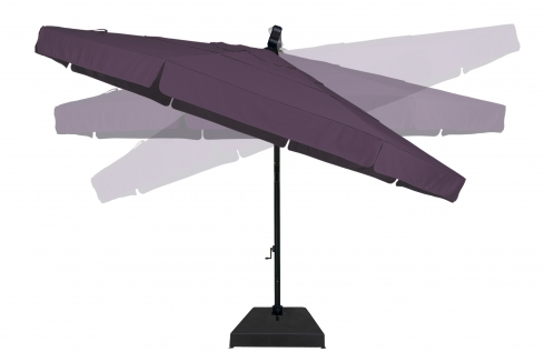 Treasure garden 13 cantilever umbrella designers patio for Treasure garden cantilever umbrella 13