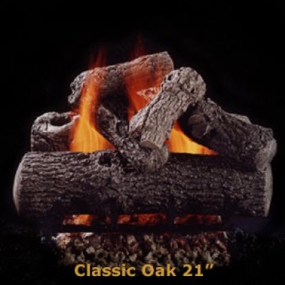 Hargrove Classic Oak 21%22 Logs
