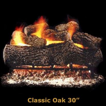 Hargrove Classic Oak 30%22 Logs