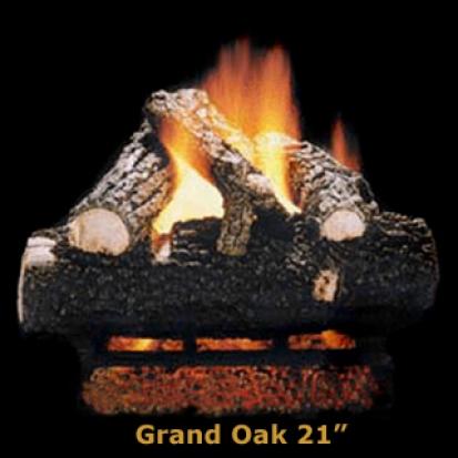 Hargrove Grand Oak 21%22 Logs