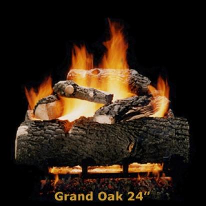 Hargrove Grand Oak 24%22 Logs