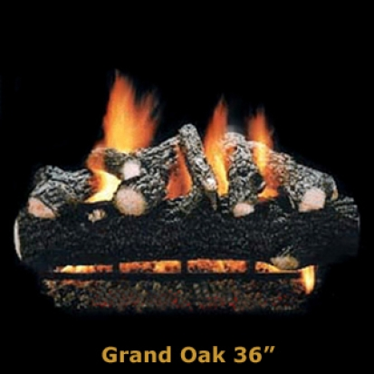 Hargrove Grand Oak 36%22 Logs