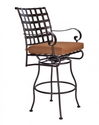 OW Lee Classico Swivel Barstool With Arms