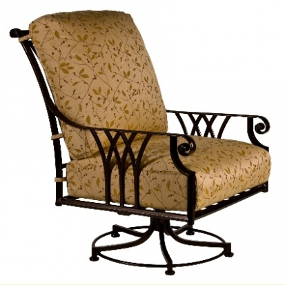 OW Lee Montrachet Swivel Rocker Club Chair