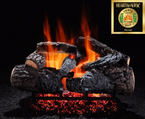 Radiant Heat Vented Logs